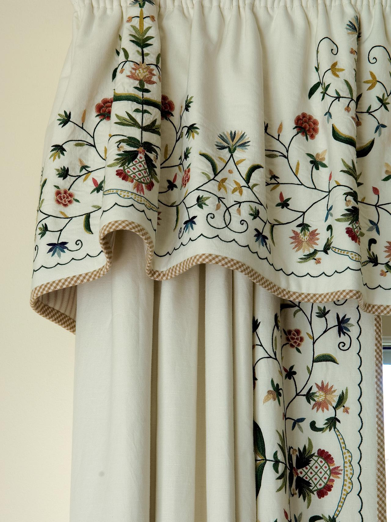 Better Homes and Gardens Embroidered Sheer Curtain Panel | Chartreuse Velvet Curtains | Embroidered Curtains