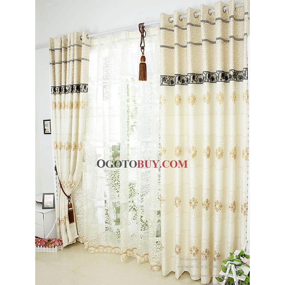 Boho Curtain Panels | Embroidered Curtains | Anthropologie Marrakech Curtain