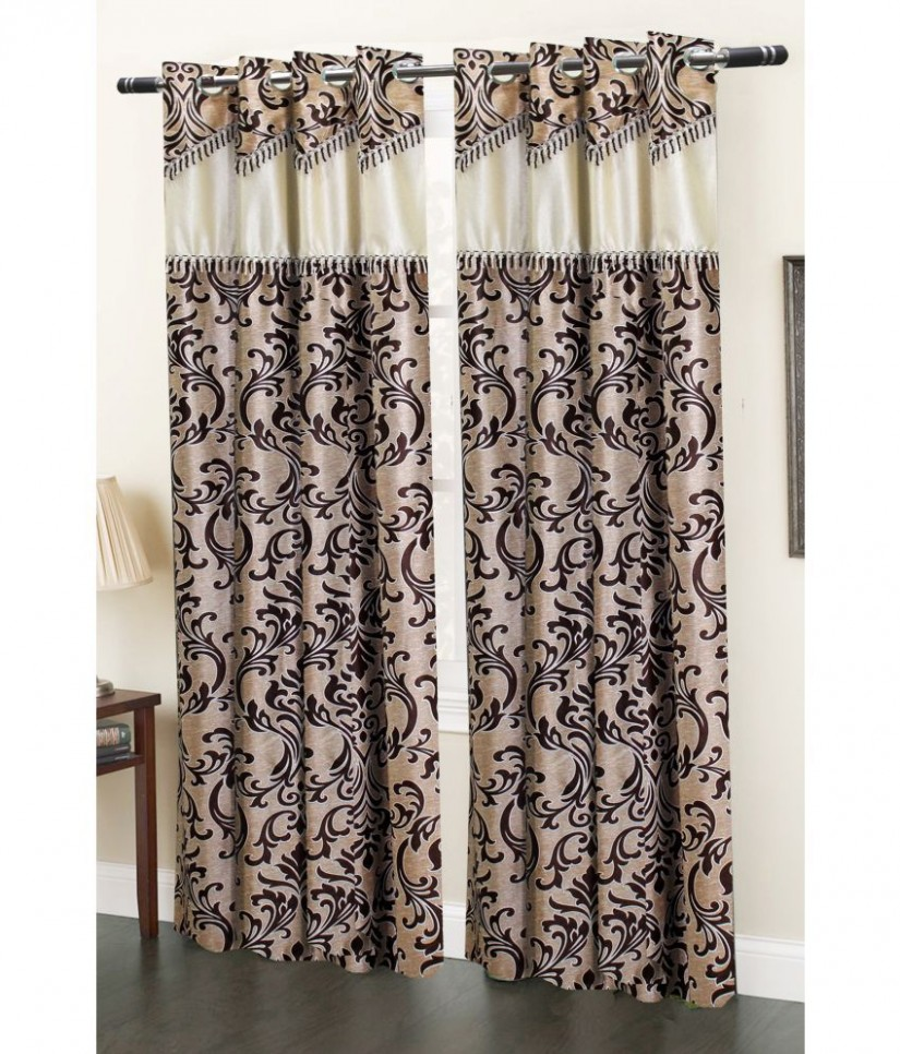 Boho Curtain Panels | Sheer Ikat Curtains | Embroidered Curtains