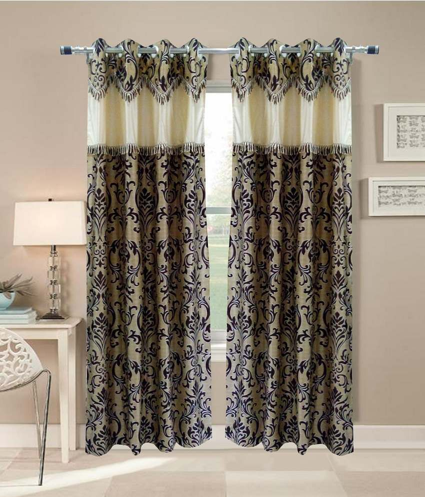 Boho Window Curtains | Embroidered Curtains | Flowered Curtains