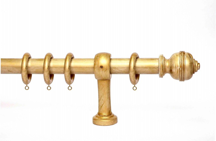 Bronze Curtain Rods | 10 Ft Curtain Pole | Oil Rubbed Bronze Drapery Rod