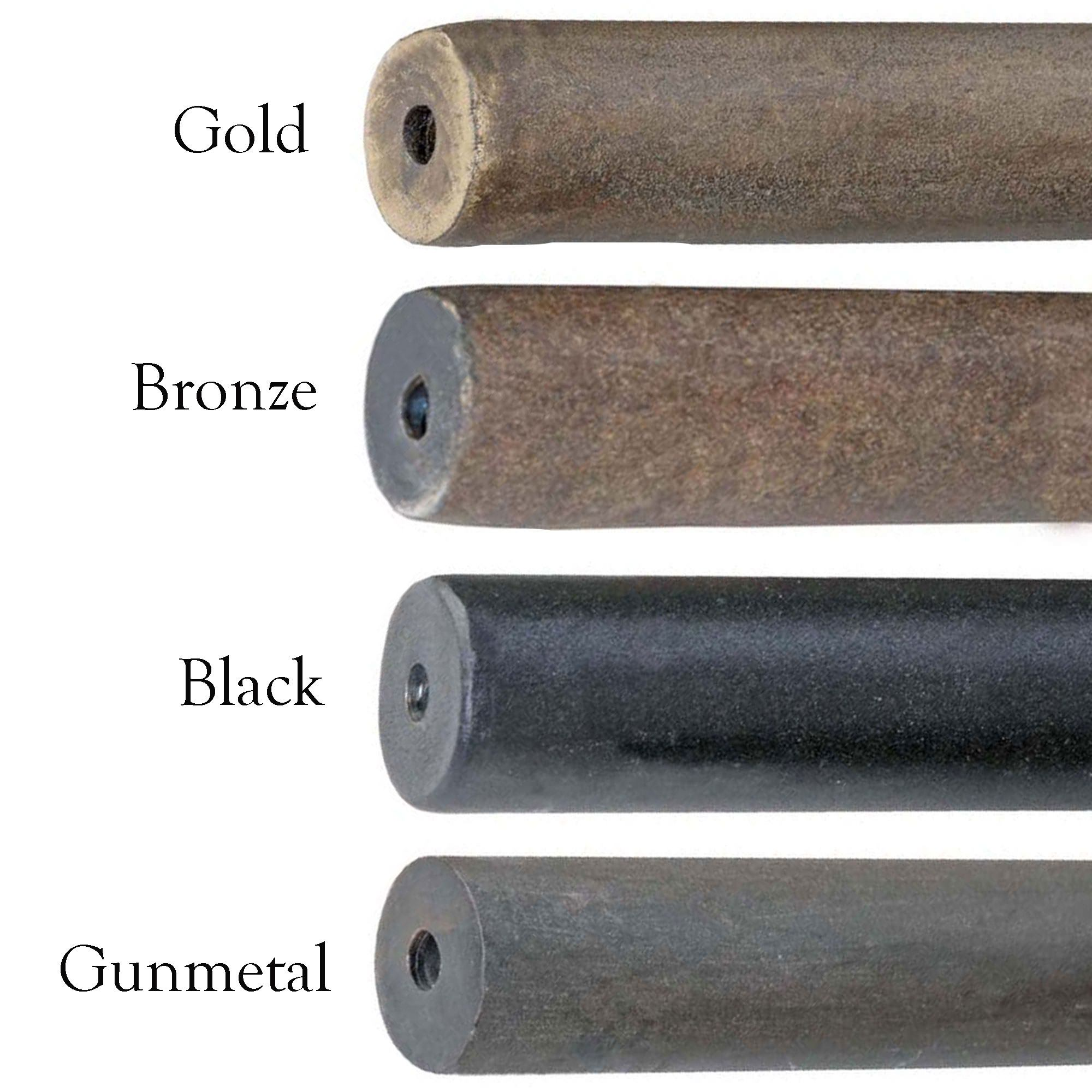 Bronze Curtain Rods | Large Diameter Curtain Rods | Curtain Rods Oil Rubbed Bronze
