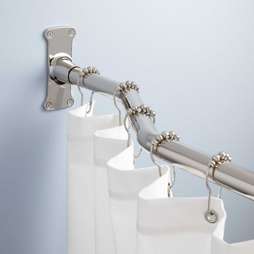 Bronze Curved Shower Curtain Rod   Curved Curtain Rods   Curved Curtain Rod For Corner