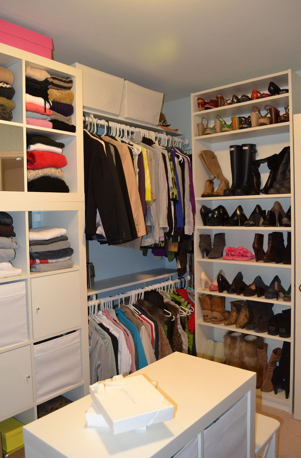 Ideas Diy Walk In Closet