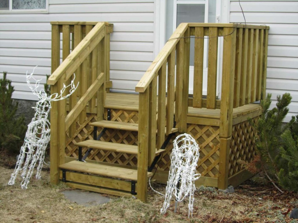 Build Deck Stairs | Deck Stair Attachment | 2x12 Stringers