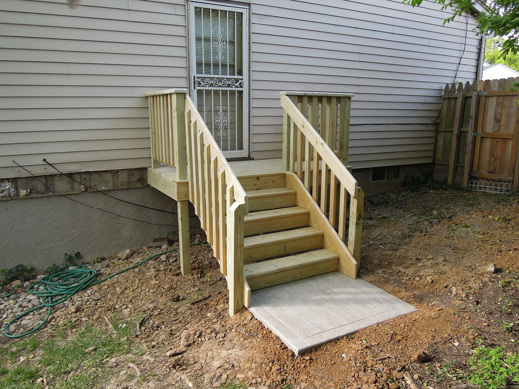 Build Deck Stairs | Easiest Way to Build Stairs | Making Stair Risers