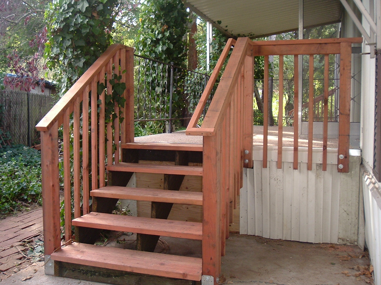 Build Deck Stairs | Exterior Stair Stringers | How to Build Cascading Deck Stairs