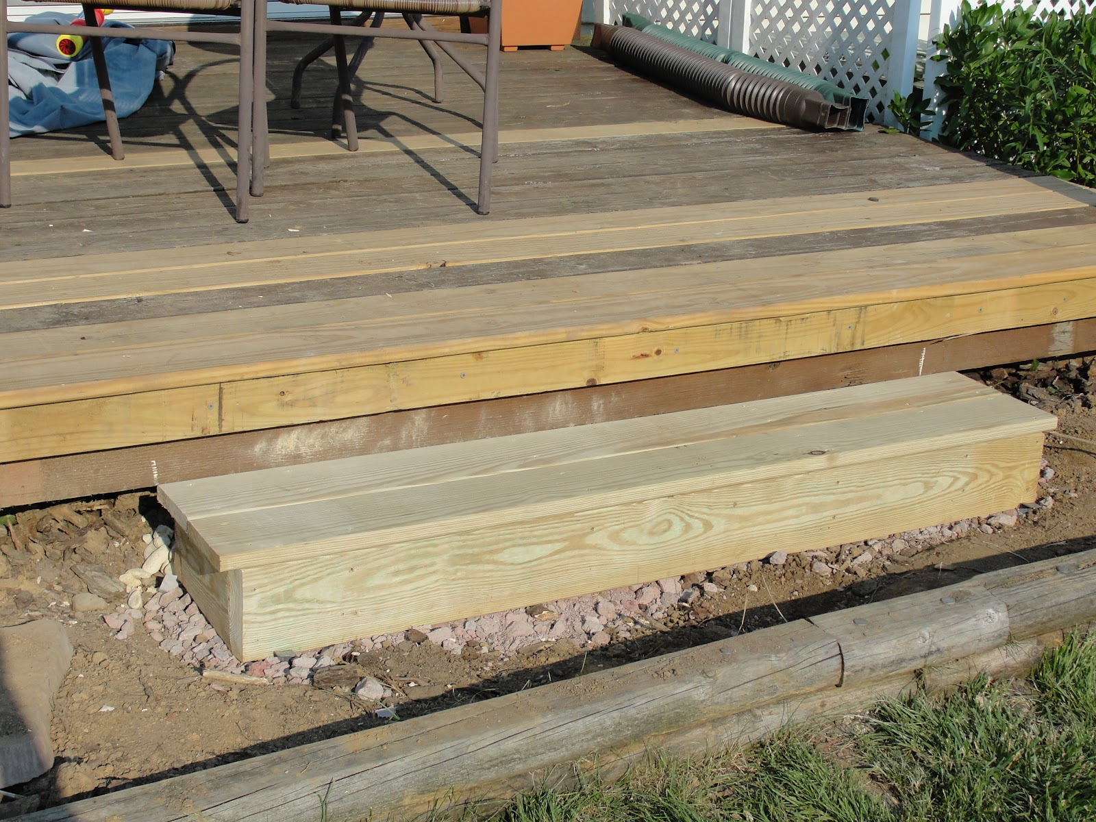 Build Deck Stairs | How to Build A Handrail for Deck Stairs | Deck Stair Brackets