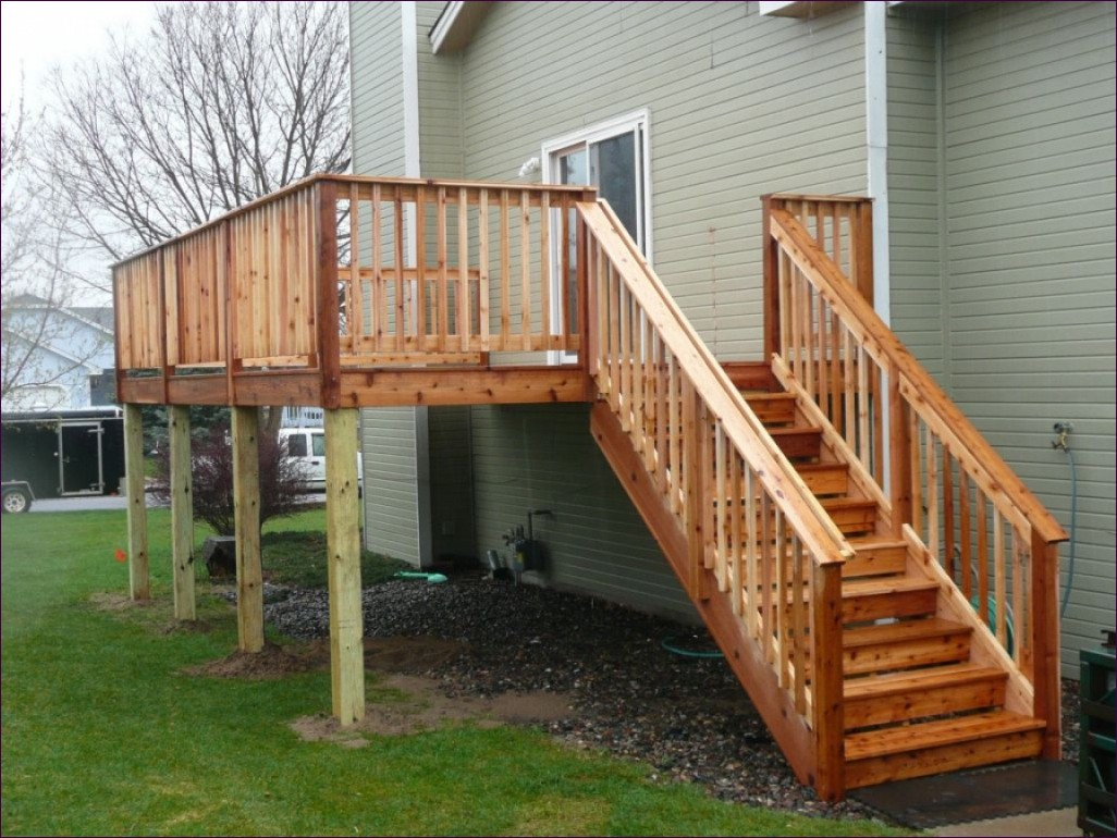 Build Deck Stairs | How to Cut Stair Treads and Risers | How to Build Cascading Deck Stairs
