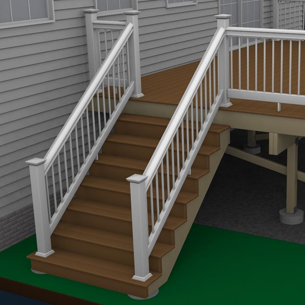 Build Deck Stairs | Laying Out Stair Stringers | How to Build Corner Deck Stairs