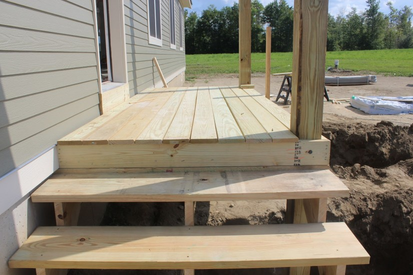 Build Deck Stairs   Replacing Deck Stairs   Cut Stair Stringers
