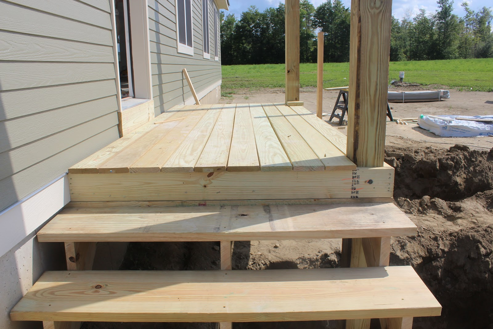 Build Deck Stairs | Replacing Deck Stairs | Cut Stair Stringers