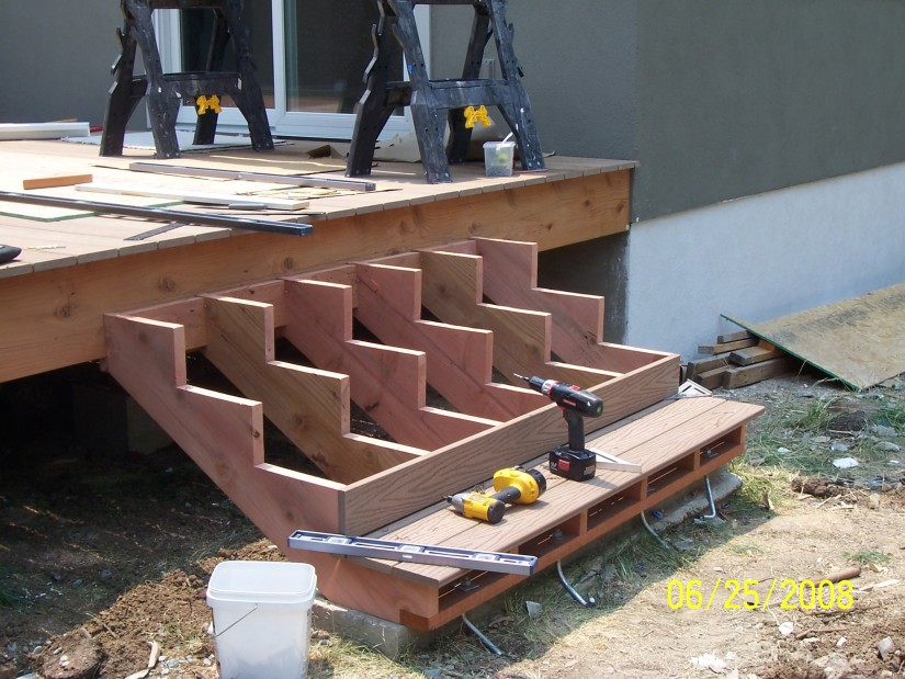 Build Deck Stairs | Stringer Stairs | How To Build Stair Stringer