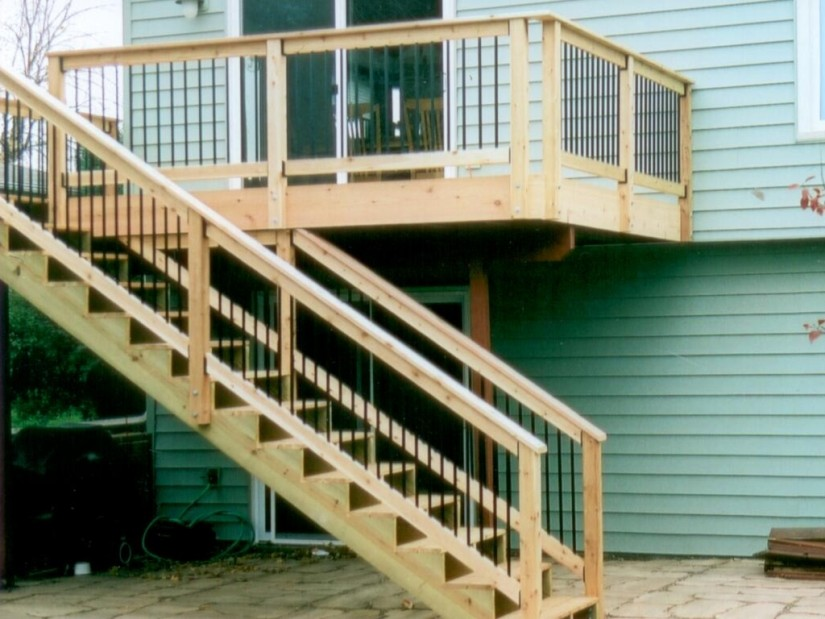 Build Your Own Staircase | Build Deck Stairs | Cost To Build Stairs For A Deck