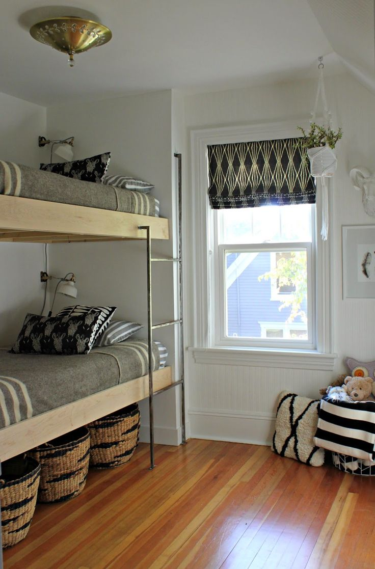 Bed Divider Design Ideas with Bunk Bed Curtains: Bunk Bed Attachments | Loft Bed Curtains | Bunk Bed Curtains