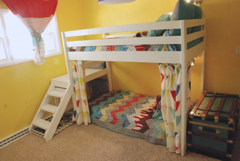 Bunk Bed Curtains | Bunk Bed Hideout | Bunk Bed Rods
