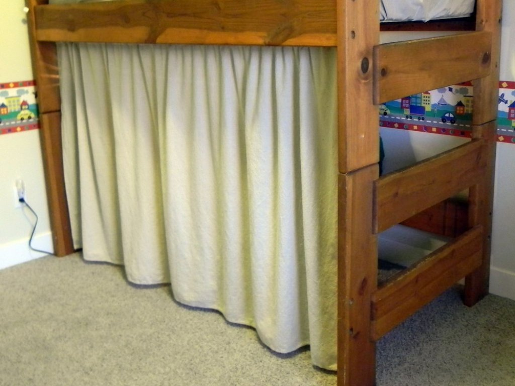 Bunk Bed Curtains | Bunk Bed with Fort | Boys Castle Bunk Bed
