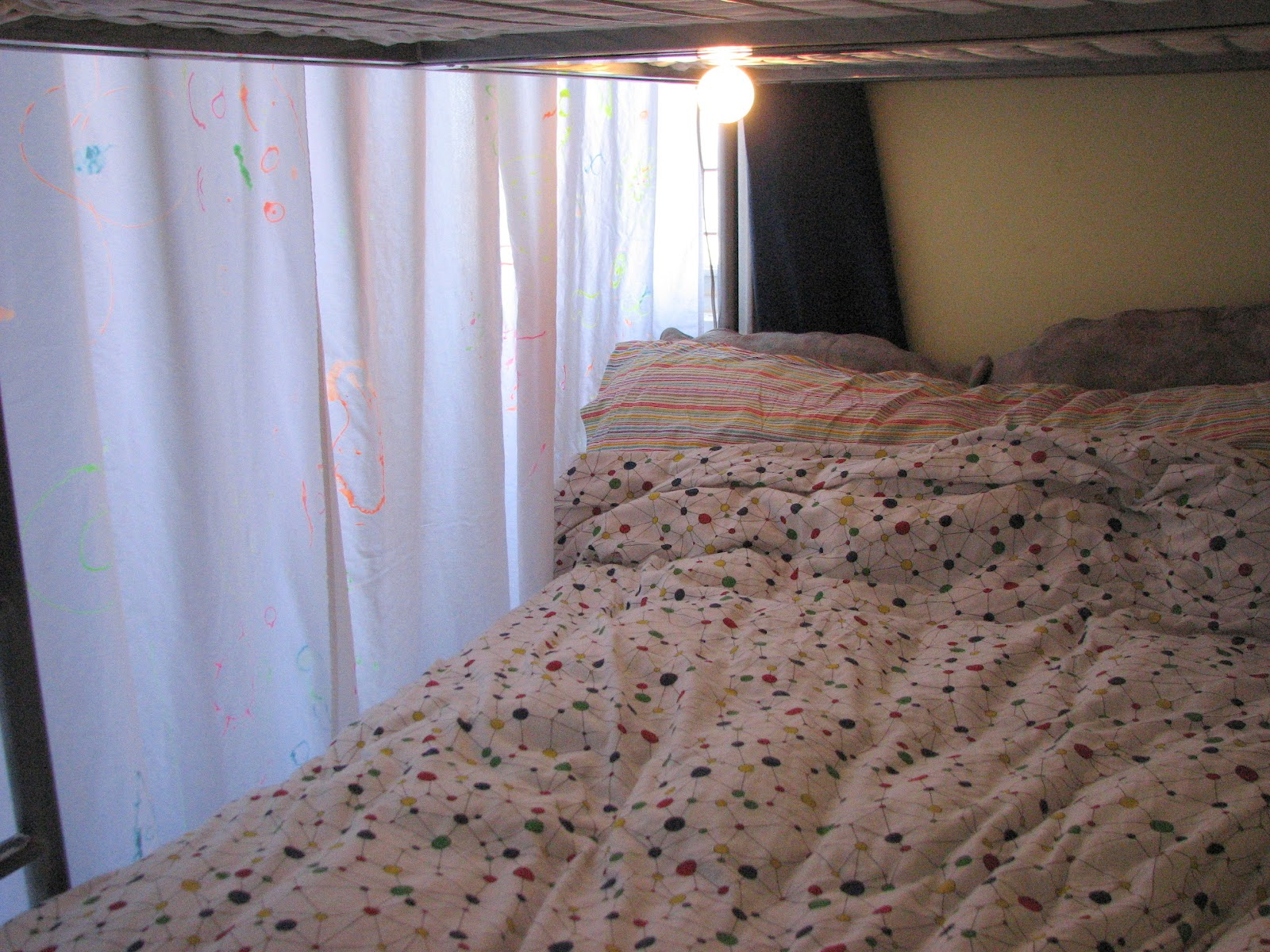 Bunk Bed Curtains | Canopy for Bunk Bed | Tent Bunk Beds