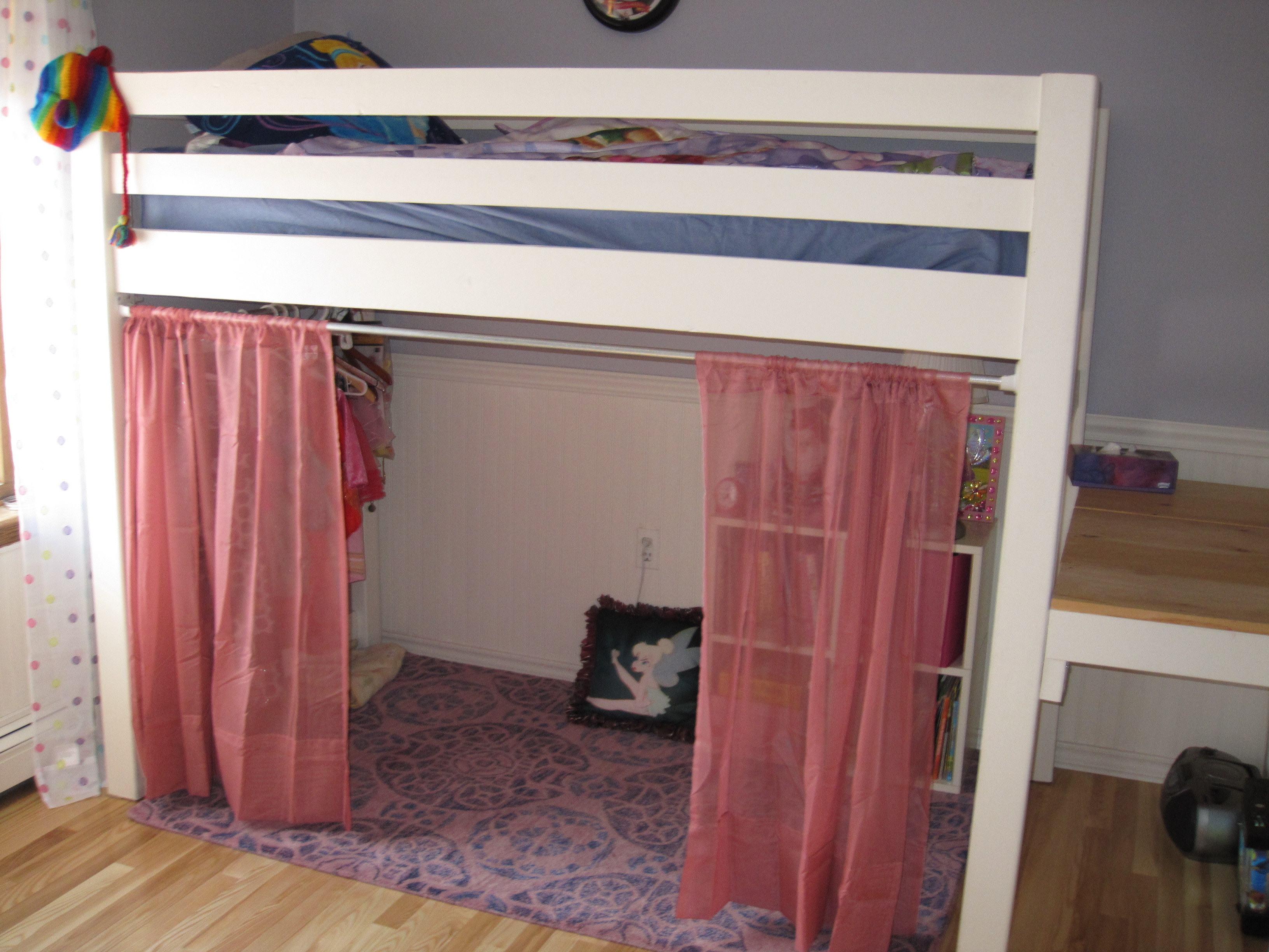 Bunk Bed Curtains | Diy Bunk Bed Curtains | Bunk Beds Tent & Curtain: Bunk Bed Tent Canopy | Pinterest Loft Bed | Bunk Bed Curtains