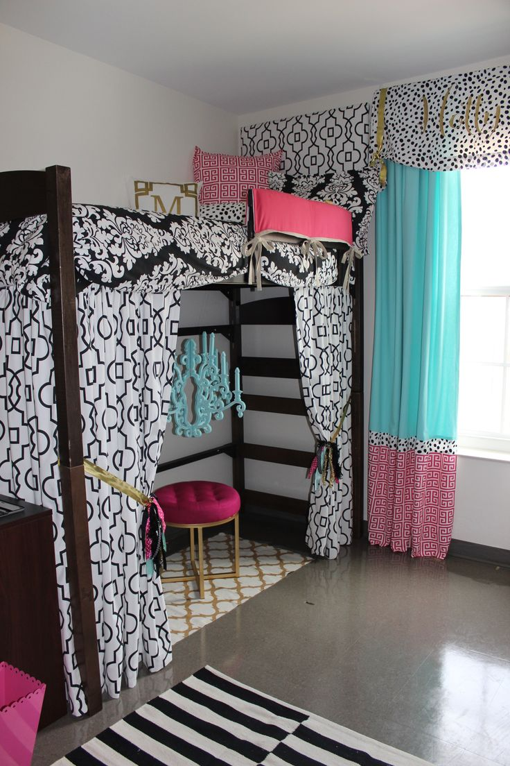 Bed Divider Design Ideas with Bunk Bed Curtains: Bunk Bed Curtains | Fantasy Loft Bed Curtains | Bunk Beds Tent