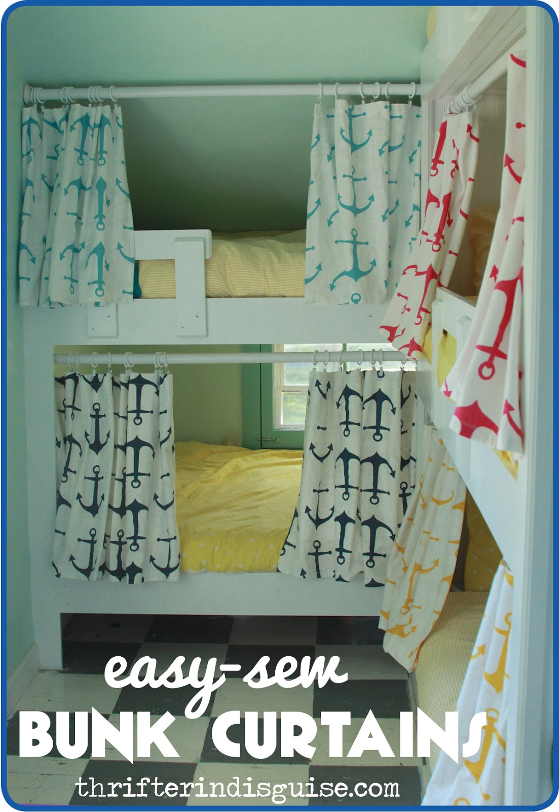 Bunk Bed Curtains | Fire Truck Loft Bed Curtain | Bunk Beds with Tents