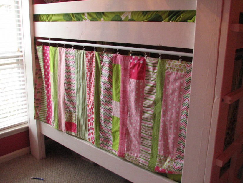 Bunk Bed Curtains | Fire Truck Loft Bed Curtain | Ikea Pine Bunk Bed
