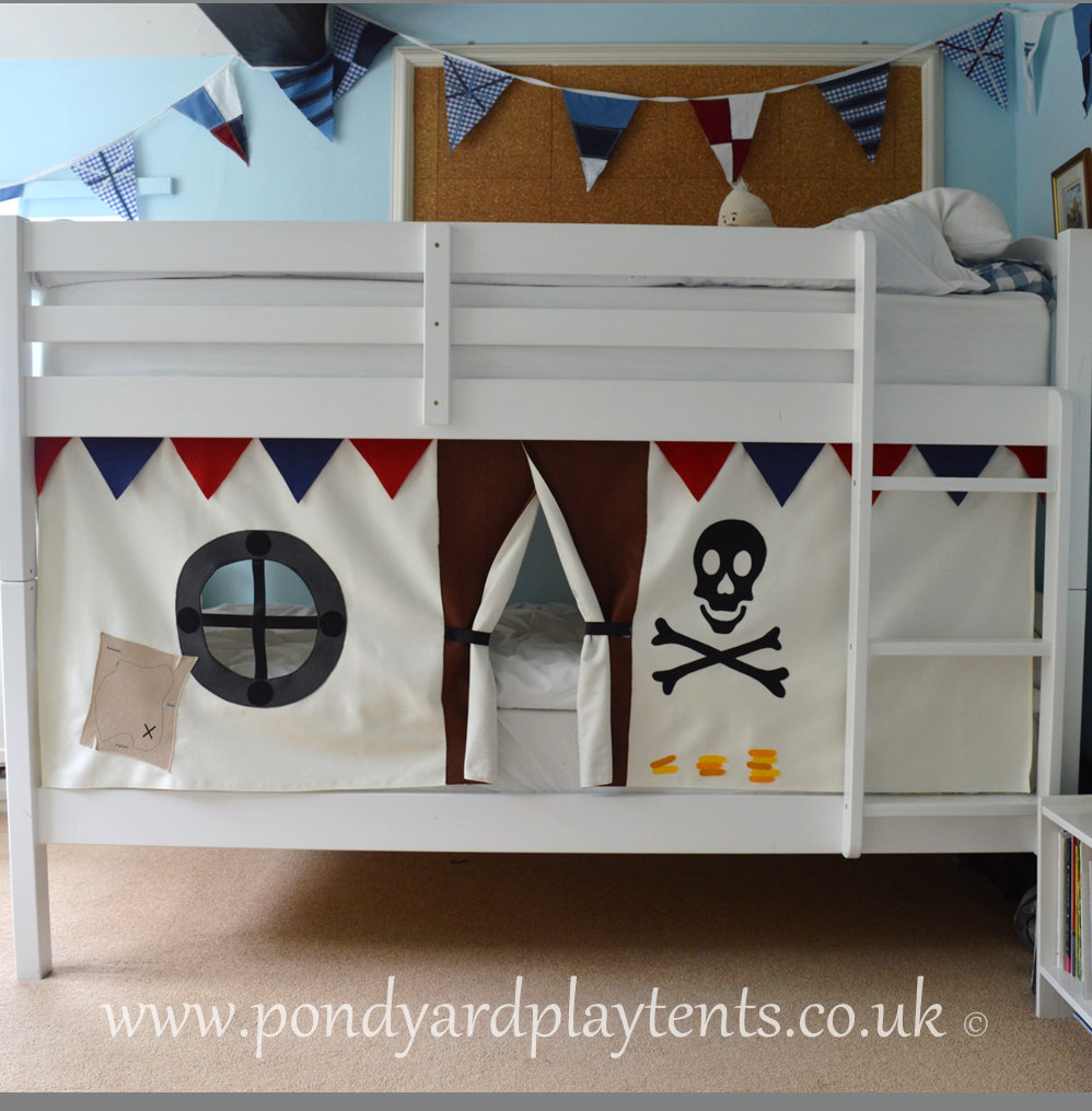 Bunk Bed Curtains | Loft Bed Canopy Tent | Bunk Bed Playhouse Curtains