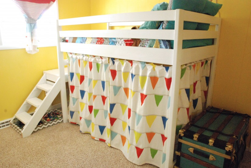 Bunk Bed Curtains | Loft Bed With Curtains | Bunk Bed Rods