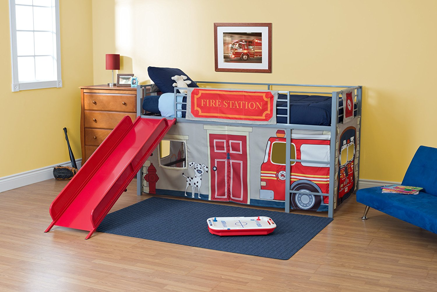 Bunk Bed with Fort | Bunk Bed Curtains | Canopy Bunk Beds