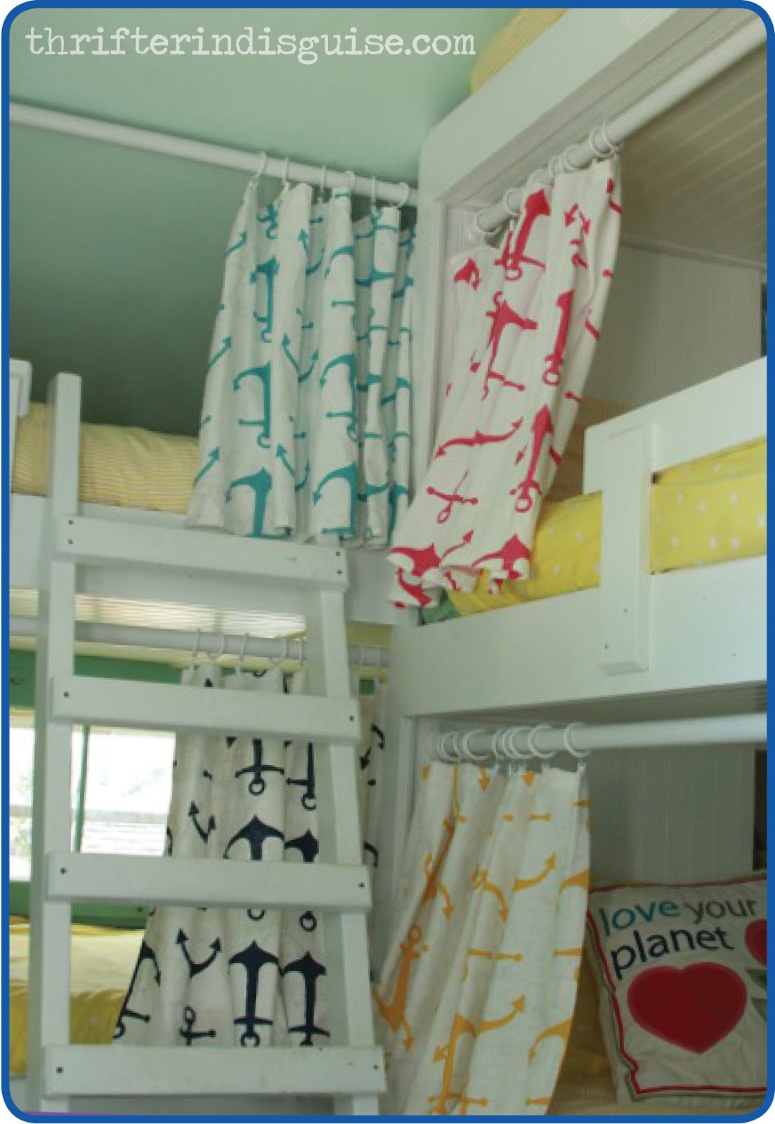 Bed Divider Design Ideas with Bunk Bed Curtains: Bunk Beds With Tents | Bunk Bed Canopy Tent | Bunk Bed Curtains