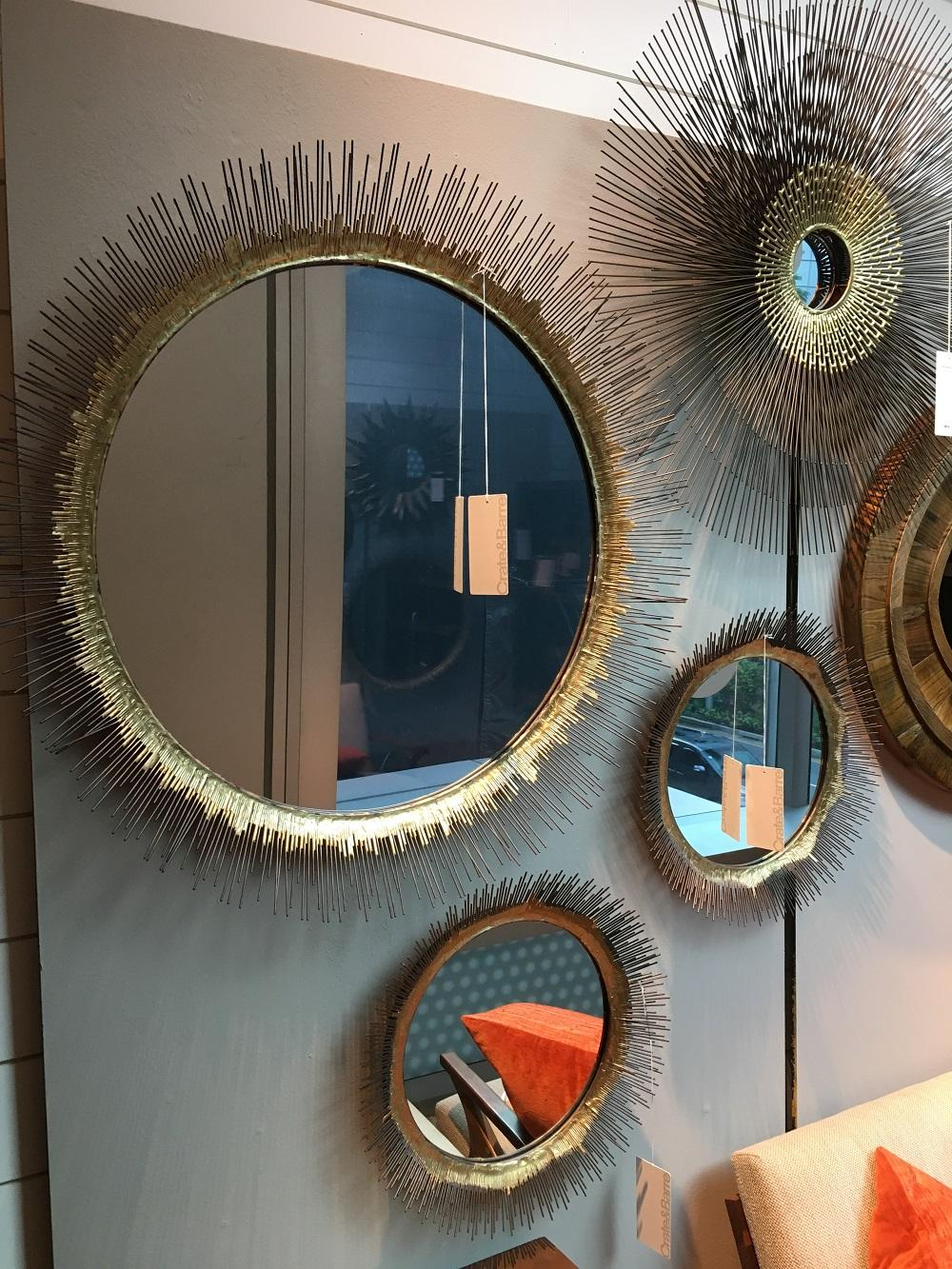Cb2 Infinity Mirror | Frameless Door Mirrors | Crate and Barrel Mirrors