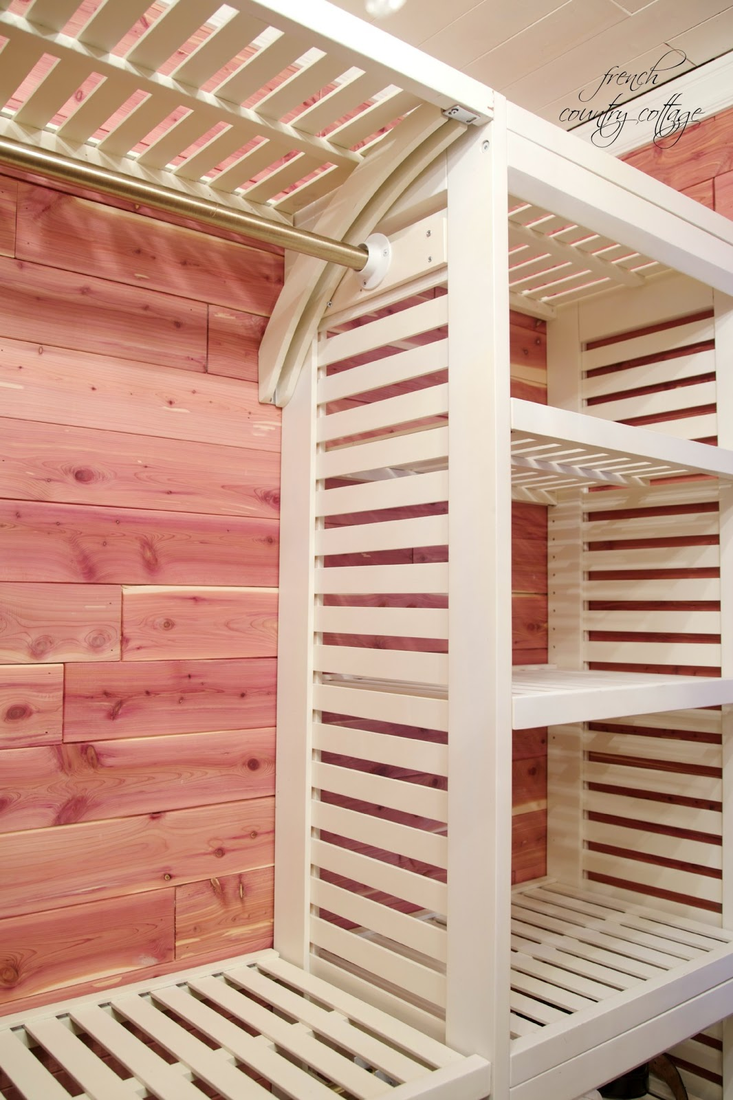 Inspiring Storage System Design Ideas with Cedar Closet Kit: Cedar Closet Kit | Cedar Paneling For Closets | 4×8 Cedar Closet Panels