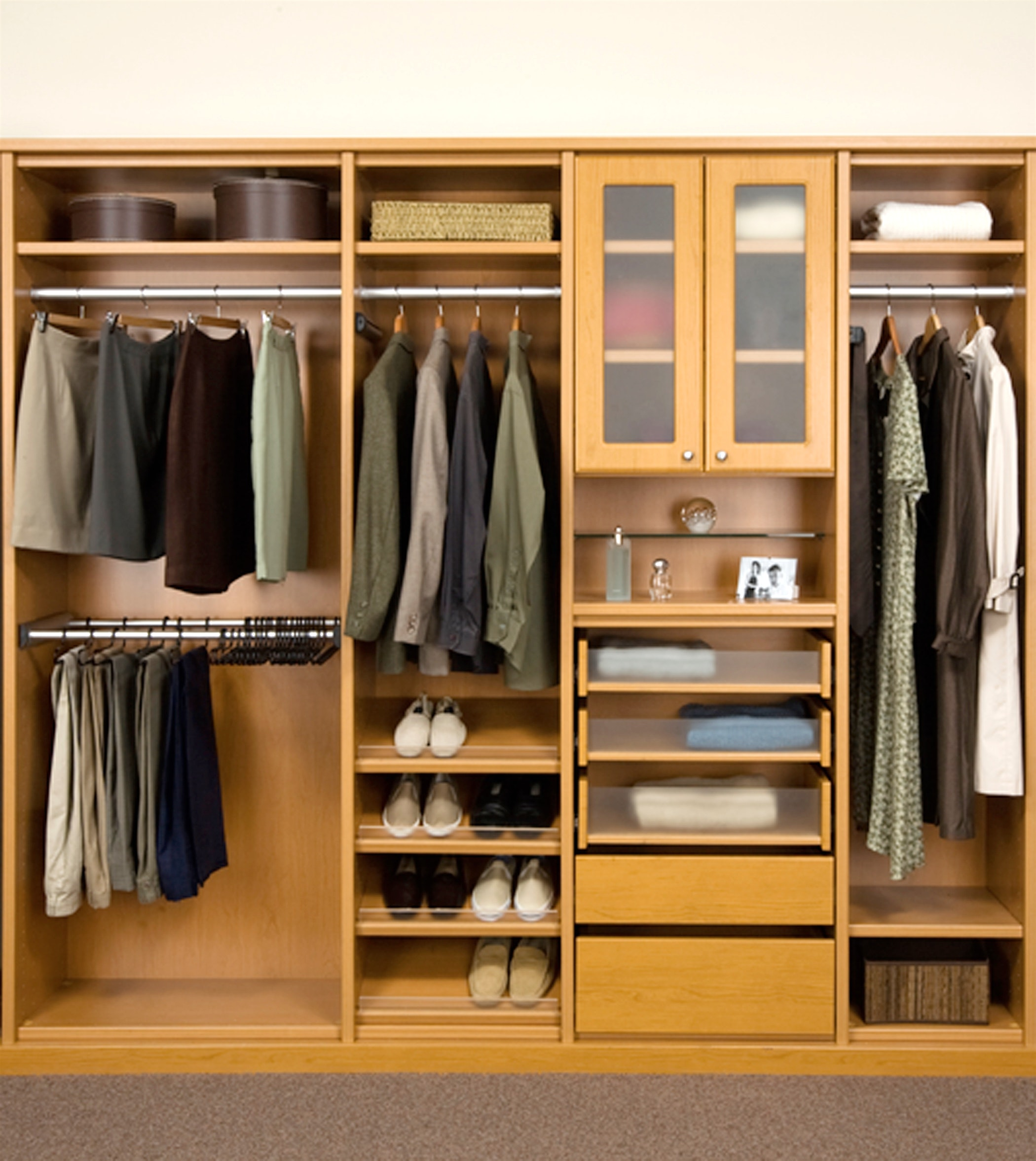 Inspiring Storage System Design Ideas with Cedar Closet Kit: Cedar For Closets At Lowes | Cubby Closet Organizer | Cedar Closet Kit