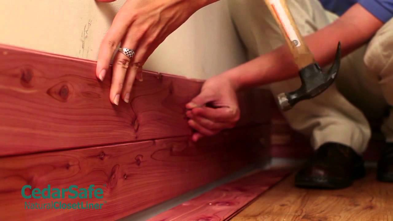 Cedar Particle Board | Cedar Closet Kit | How to Build A Cedar Closet