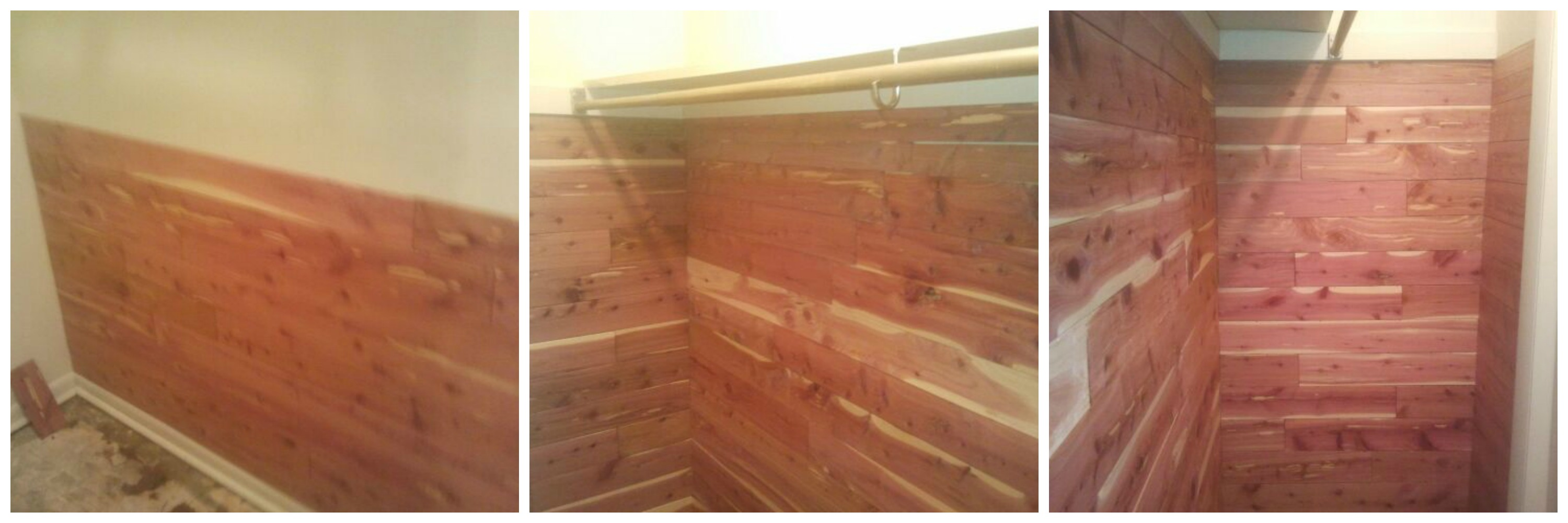 Cedar Planks for Closets | Cedar Closet Kit | Cedar Wood Closet Lining