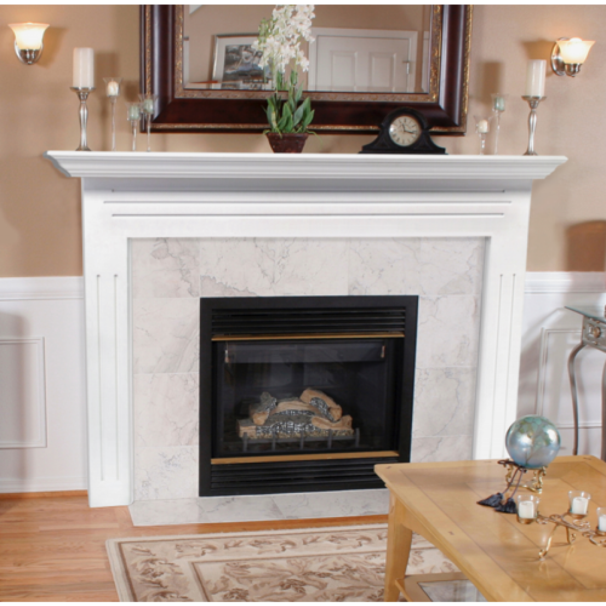 Chimney Mantels | Lowes Fireplace Mantel | Mantel Chimney