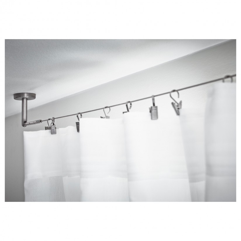 Clear Pvc Shower Curtain | Single Stall Shower Curtain | Ikea Shower Curtain