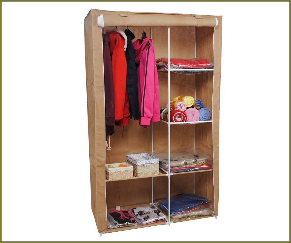 Clothing Storage Armoire | Cheap Wardrobe Closet | Tall Narrow Armoire