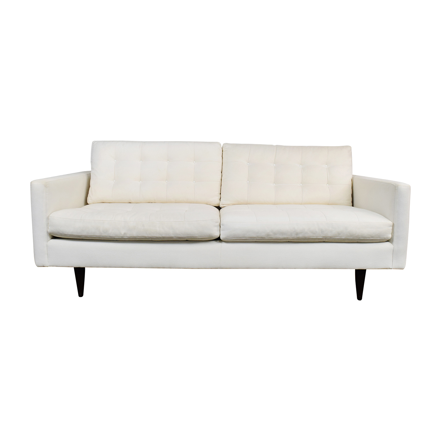 Crate and Barrel Apartment Sofa | Crate and Barrel Couch | Crate and Barrel Couch