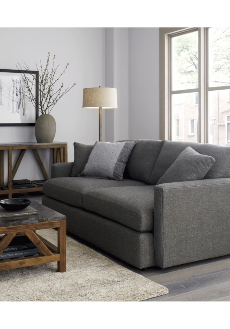 Crate and Barrel Couch | Crate and Barrel Sofa | Crate and Barrel Apartment Sofa