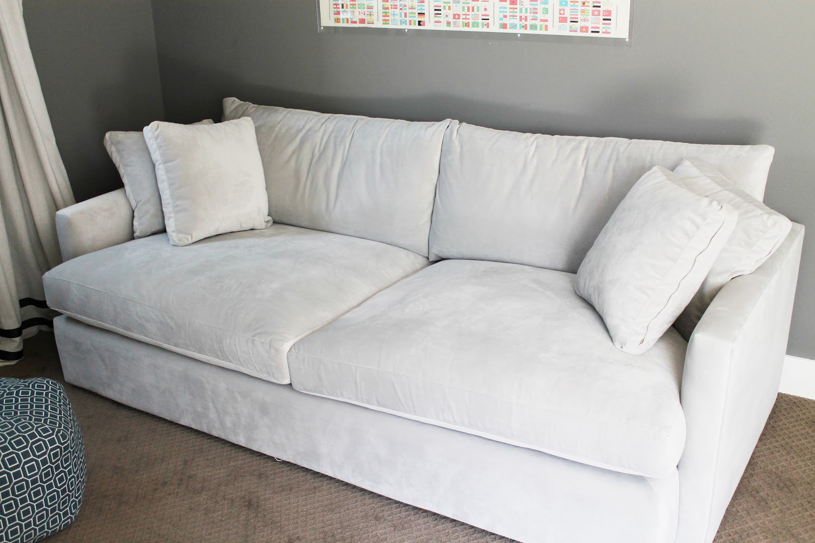 Crate and Barrel Couch | Slipcover Crate and Barrel | Discontinued Crate and Barrel