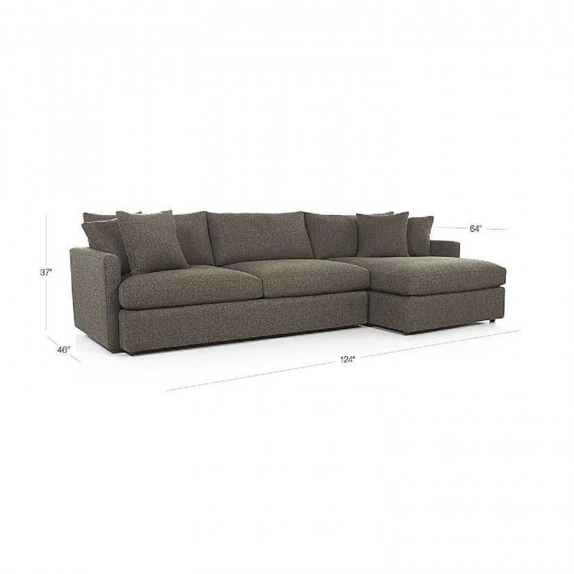 Crate And Barrel Fabric Sale | Vaughn Apartment Sofa | Crate And Barrel Couch