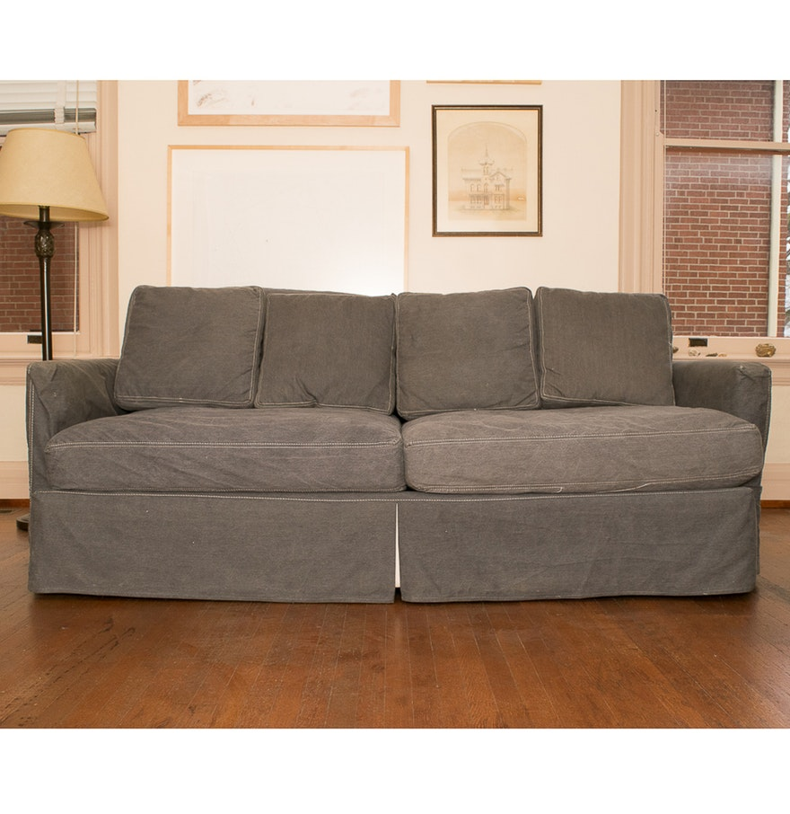 Crate and Barrel Lounge Couch | Crate and Barrel Couch | Axis Sectional Sofa