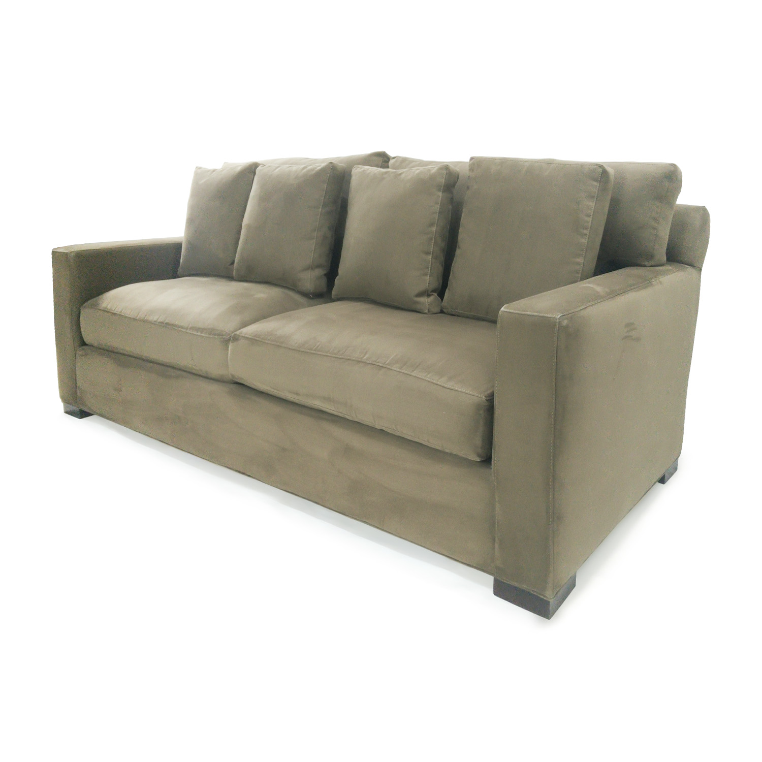Furniture Simple But Elegant Tufted Sofa Design With