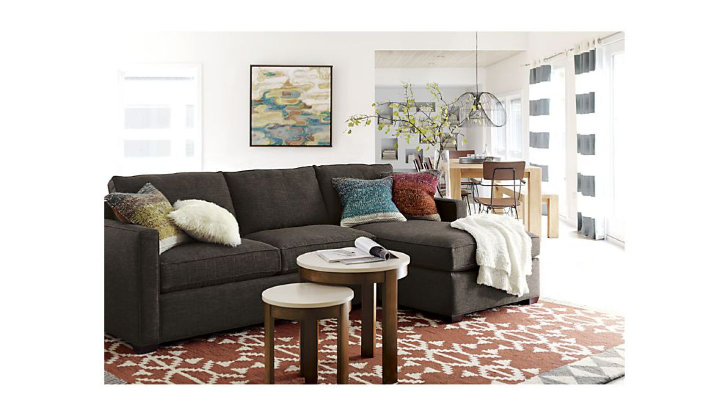 Crate & Barrel Lounge Sofa | Crate and Barrel Couch | Crate and Barrel Sofas and Loveseats