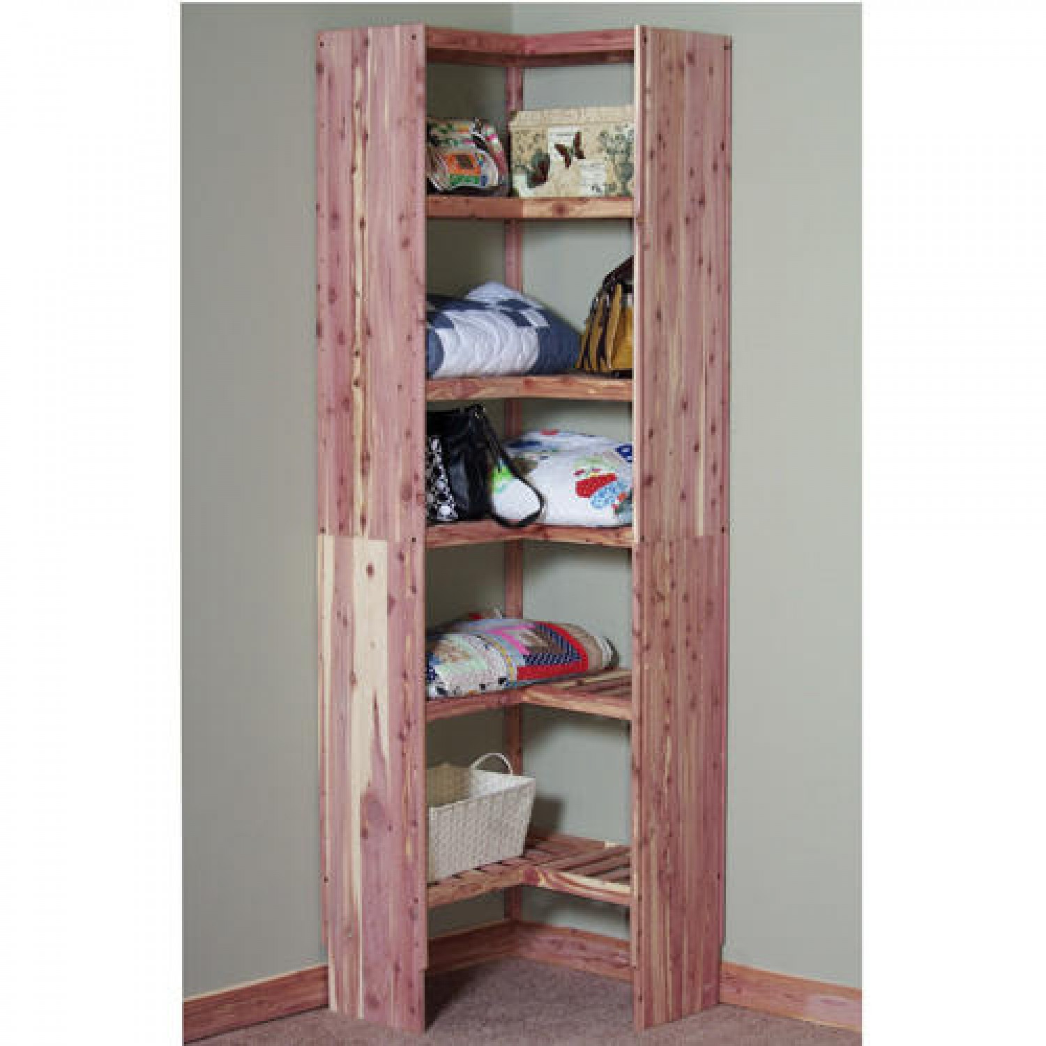 Inspiring Storage System Design Ideas with Cedar Closet Kit: Cubby Closet Organizer | Cedar Wood Lowes | Cedar Closet Kit