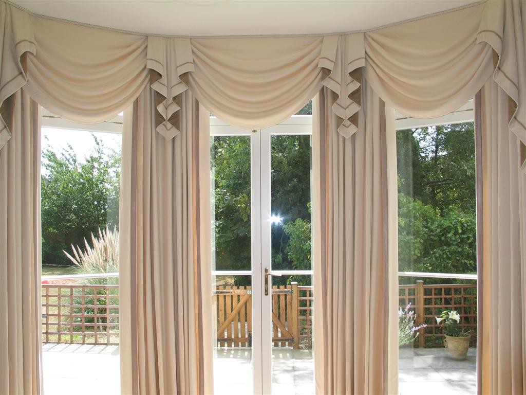 Curved Curtain Rods for Your Curtain Design Ideas: Curtain Rod Curved | Arched Window Curtain Rod | Curved Curtain Rods