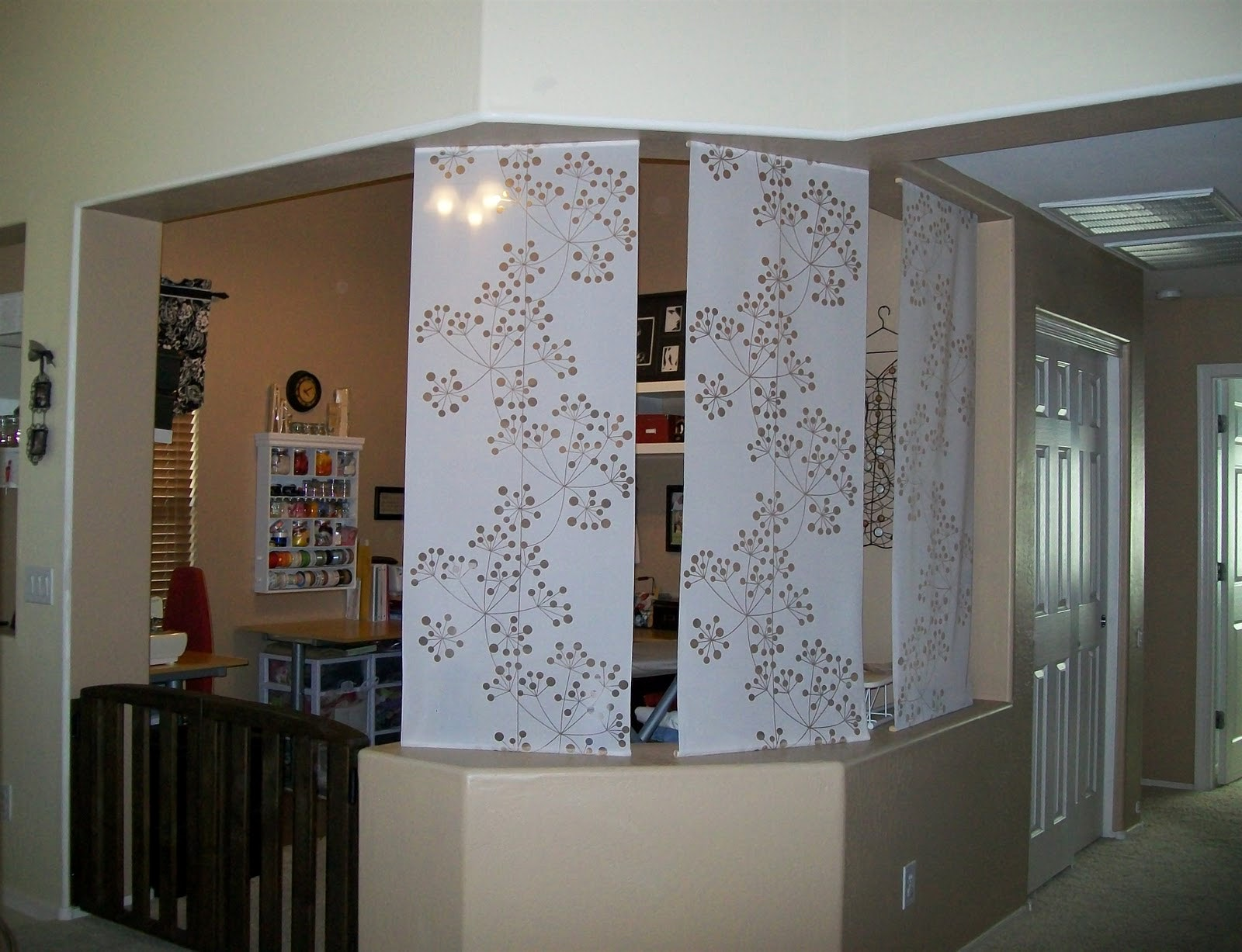 Curtain Rod Room Divider | Curtain Separator | Room Divider Curtains