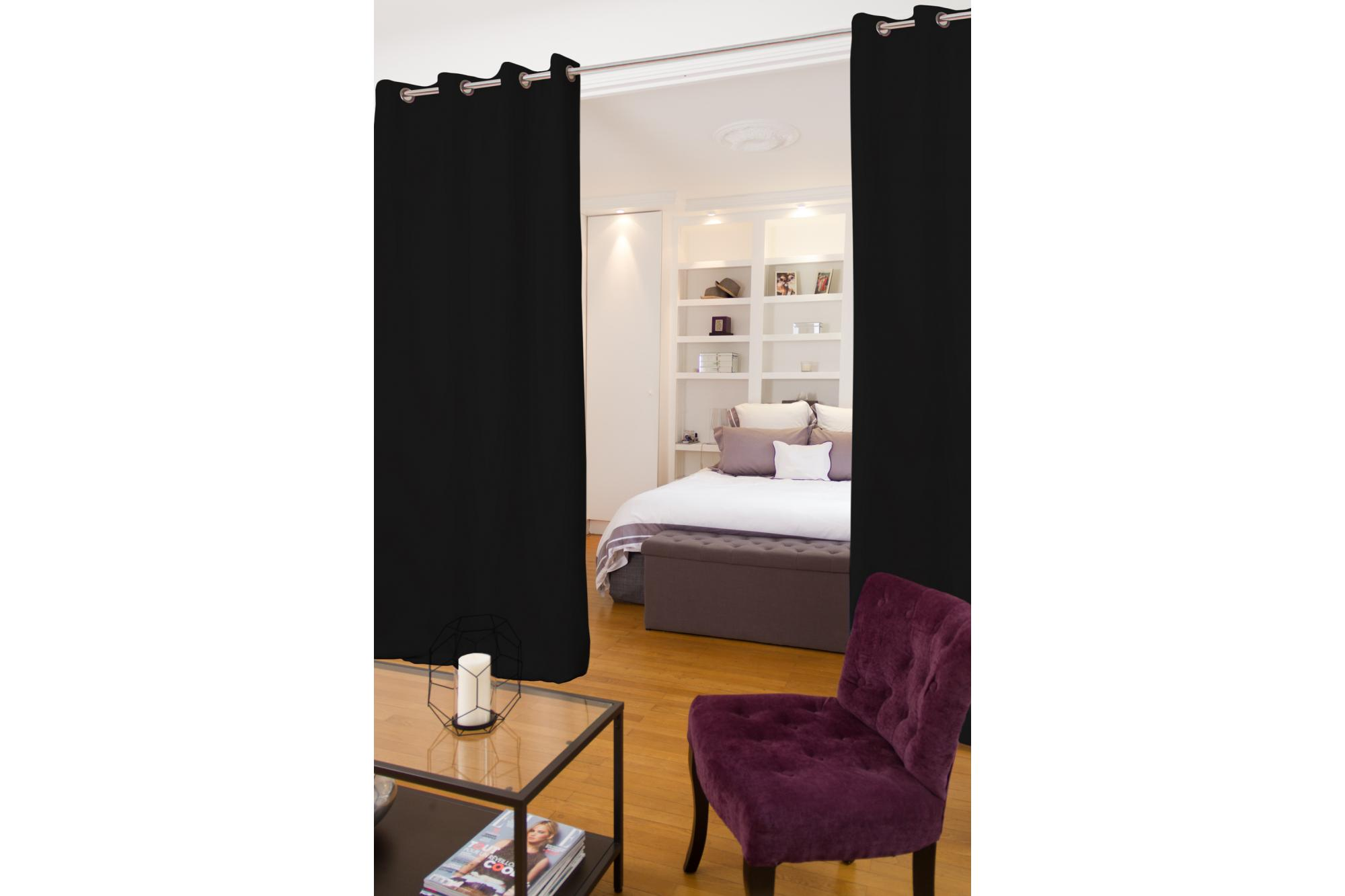 Curtain Room Divider Ikea | Dividing A Bedroom with Curtains | Room Divider Curtains