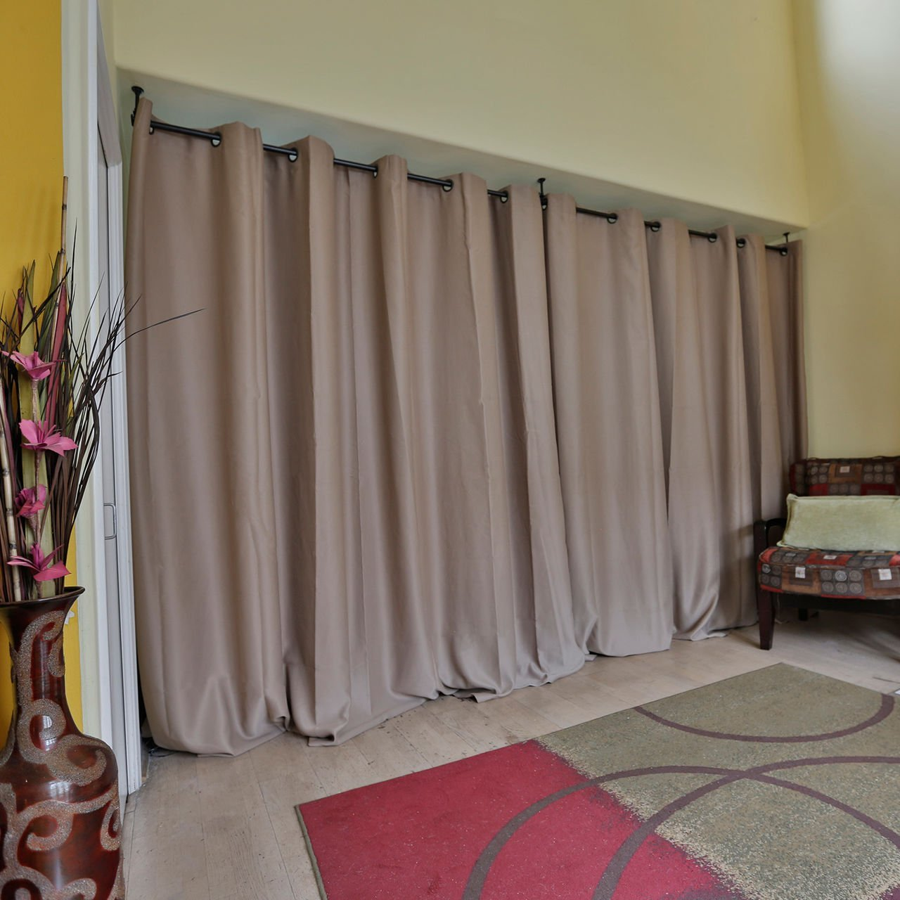 Curtain Room Dividers | Room Divider Curtains | Chain Curtain Room Divider